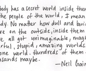 quote, Neil Gaiman, and text image