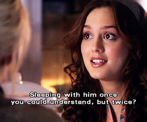 gossip girl and blair waldorf image