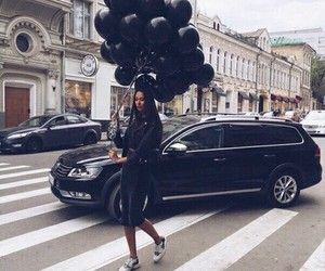 black, car, and style image
