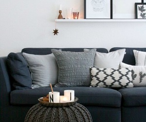 decor, home, and grey image
