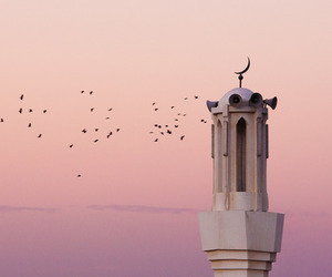 dine, sky, and mosquee image