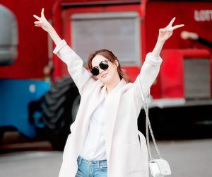 seohyun, fashion, and girls generation image