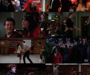 finn, finchel, and glee image