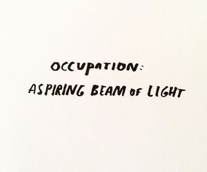 quotes, words, and light image