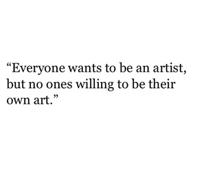 art, artist, and quote image