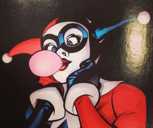 comics, DC, and harley quinn image