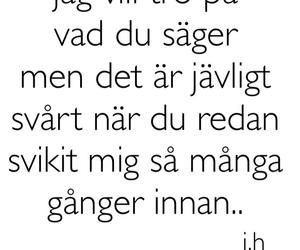 quote, svenska, and citat image