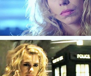 bad wolf, billie piper, and doctor who image