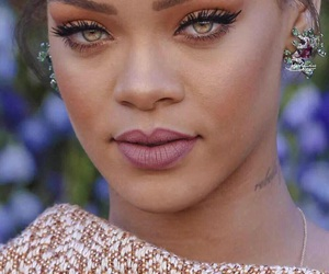 rihanna, eyes, and beauty image