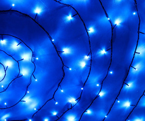 blue, light, and glow image