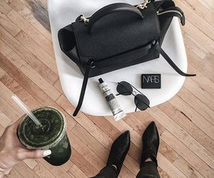 bag, chic, and drinks image