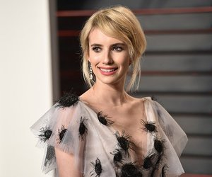 after party, emma roberts, and oscars image