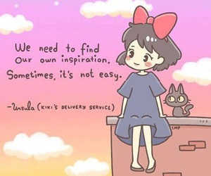 anime, kiki's delivery service, and inspiration image