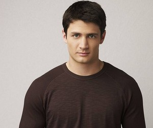 james lafferty, nathan scott, and one tree hill image