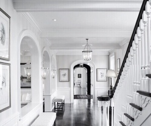 house, interior, and hallway image