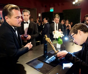 Academy Awards, leonardo dicaprio, and oscars image