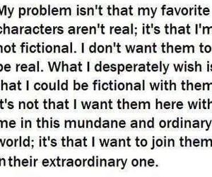 problems, fangirls, and fictional characters image