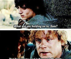 lord of the rings, Sam, and frodo image