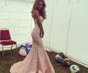 amazing, dress, and pink image