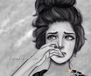 girly_m, sad, and cry image