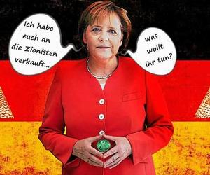 deutschland, illuminati, and merkel image