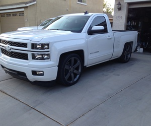 chevy, custom, and truck image