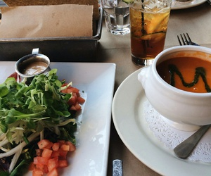 food, lunch, and salad image