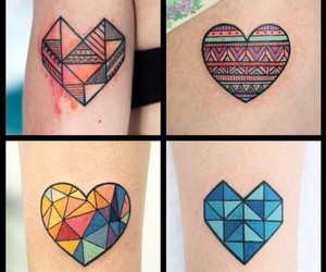 heart, Tattoos, and tumblr image