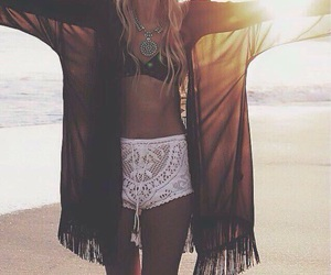 beach, summer, and style image