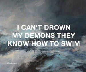 demon, quotes, and grunge image