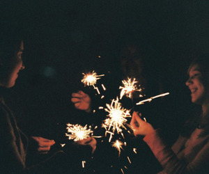 fireworks, indie, and light image