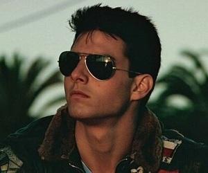 Tom Cruise and top gun image