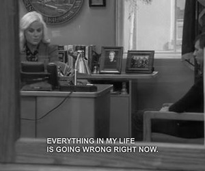 sad, life, and parks and recreation image