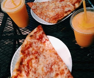 pizza, food, and drink image