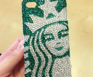 iphone, starbucks, and green image