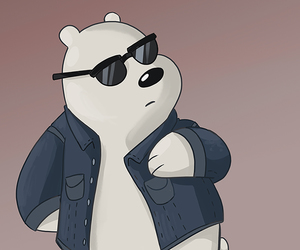 chloe, ice bear, and panda image