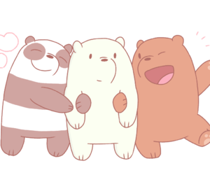 chloe, panda, and ice bear image
