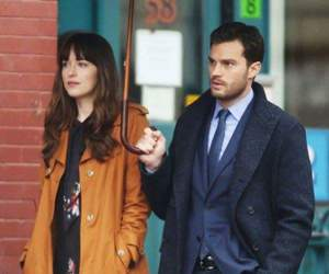 Jamie Dornan, dakota johnson, and anastasia steele image