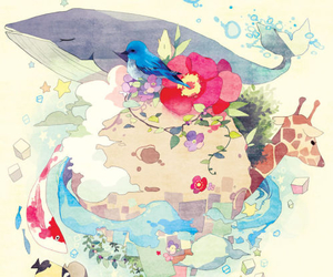 anime, book, and art image