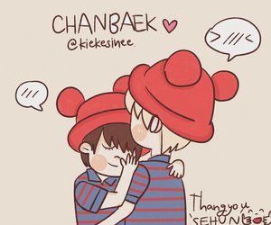 chanbaek exo image