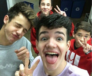 cameron dallas and aaron carpenter image