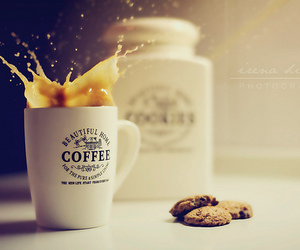 coffee and cookie image