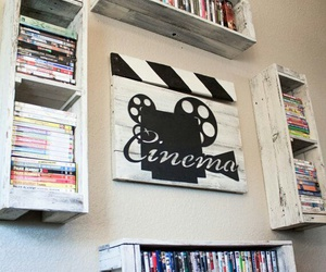 movie, movies, and wall image