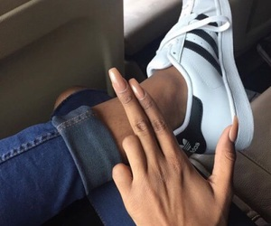 goals, style, and nails image