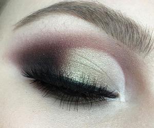 eyebrows, makeup, and tumblr image