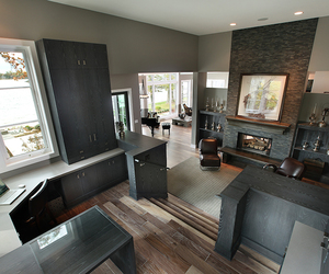 fireplace, home, and interior design image