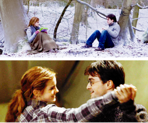 harry potter, harmony, and hermione granger image