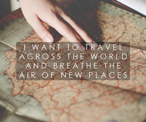 maps, places, and quote image