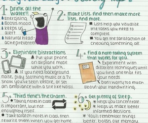 study, study tips, and back to school image