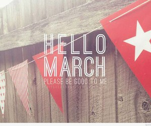 hello, march, and luky image